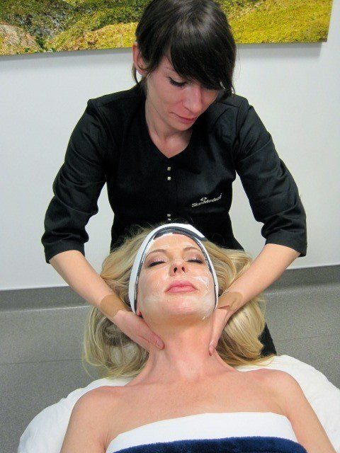 Facials are one of the professional skin care services offered here at Contour Dermatology