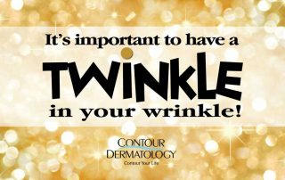 Twinkle twinkle little star don't let people know how old you are….Visit Contour Dermatology. Call us too! 888-977-7546