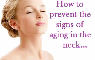 How to prevent the signs of aging in the neck