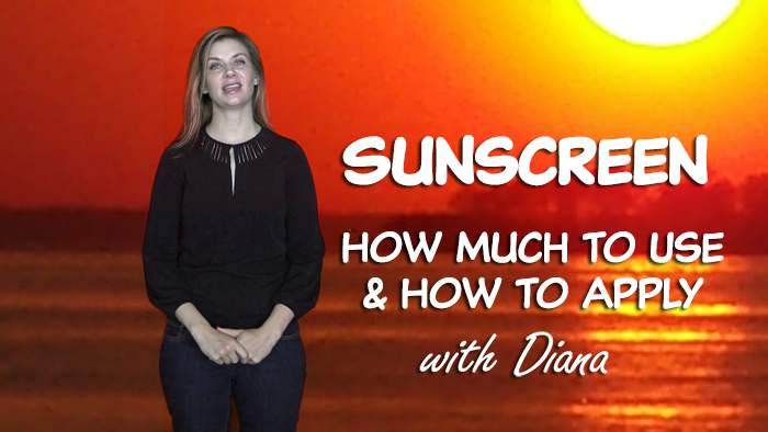 Sunscreen Tips, How Much You Need & How to Apply to Protect Your Skin From Sunburn