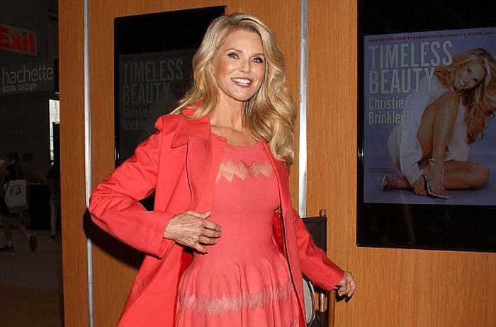 """Christie Brinkley promotes her new book,""""Timeless Beauty"""""""