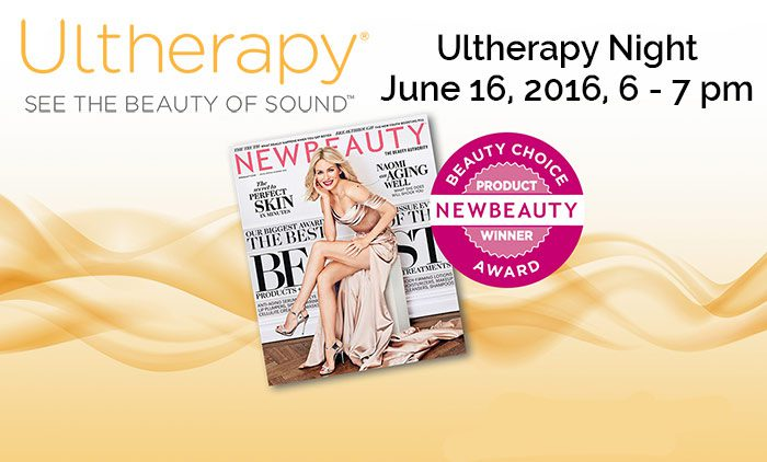 Ultherapy,, the non-invasive face lift. **
