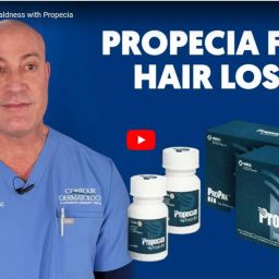 Propecia is an FDA approved 5α-Reductase inhibitor used to combat male pattern baldness. Propecia has shown excellent results for men with thinning hair.