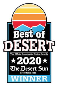"""We are excited to announce that Dr. Jochen has again been named a """"Best of"""" among the Best of the Desert contest of The Desert Sun."""